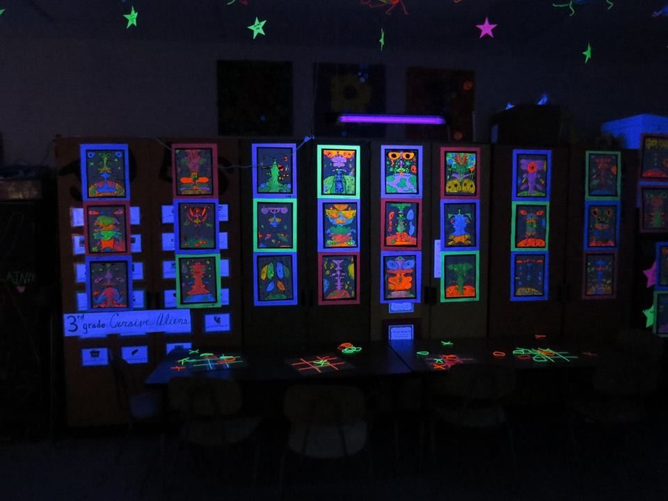 Another Glow In The Dark Gallery Galaxy In The Books Kinders
