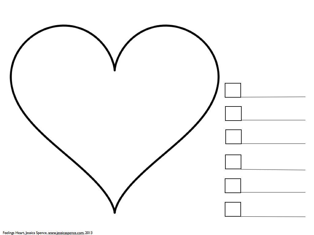 worksheet Art Therapy Worksheets what feelings are in your heart an art therapy exercise for kids kids