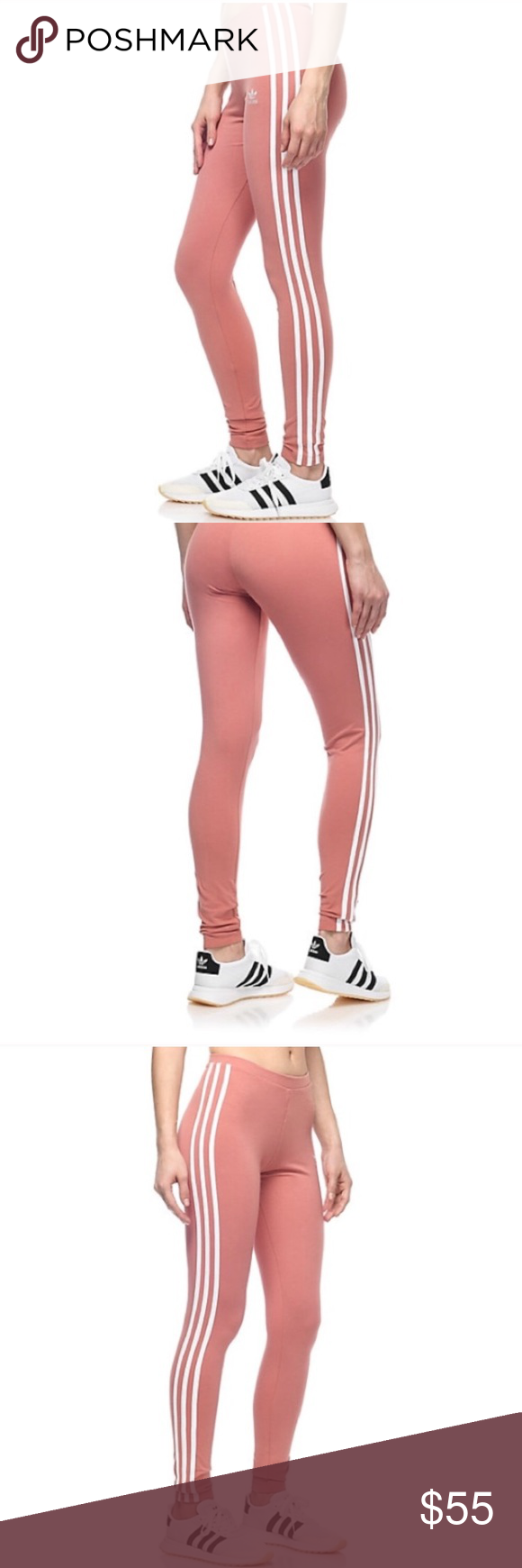 1a487d6e28ac2 Brand new Mauve Adidas Originals leggings Brand new. Price is firm Adidas  Pants Leggings