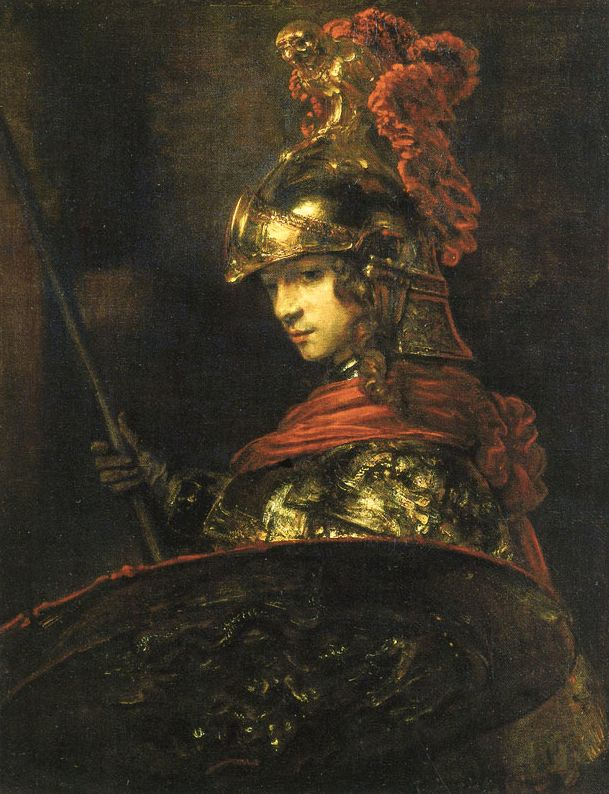 Epph Rembrandt S Man In Armour 1655 And Minerva C 1655 Rembrandt Paintings Rembrandt Van Rijn Rembrandt