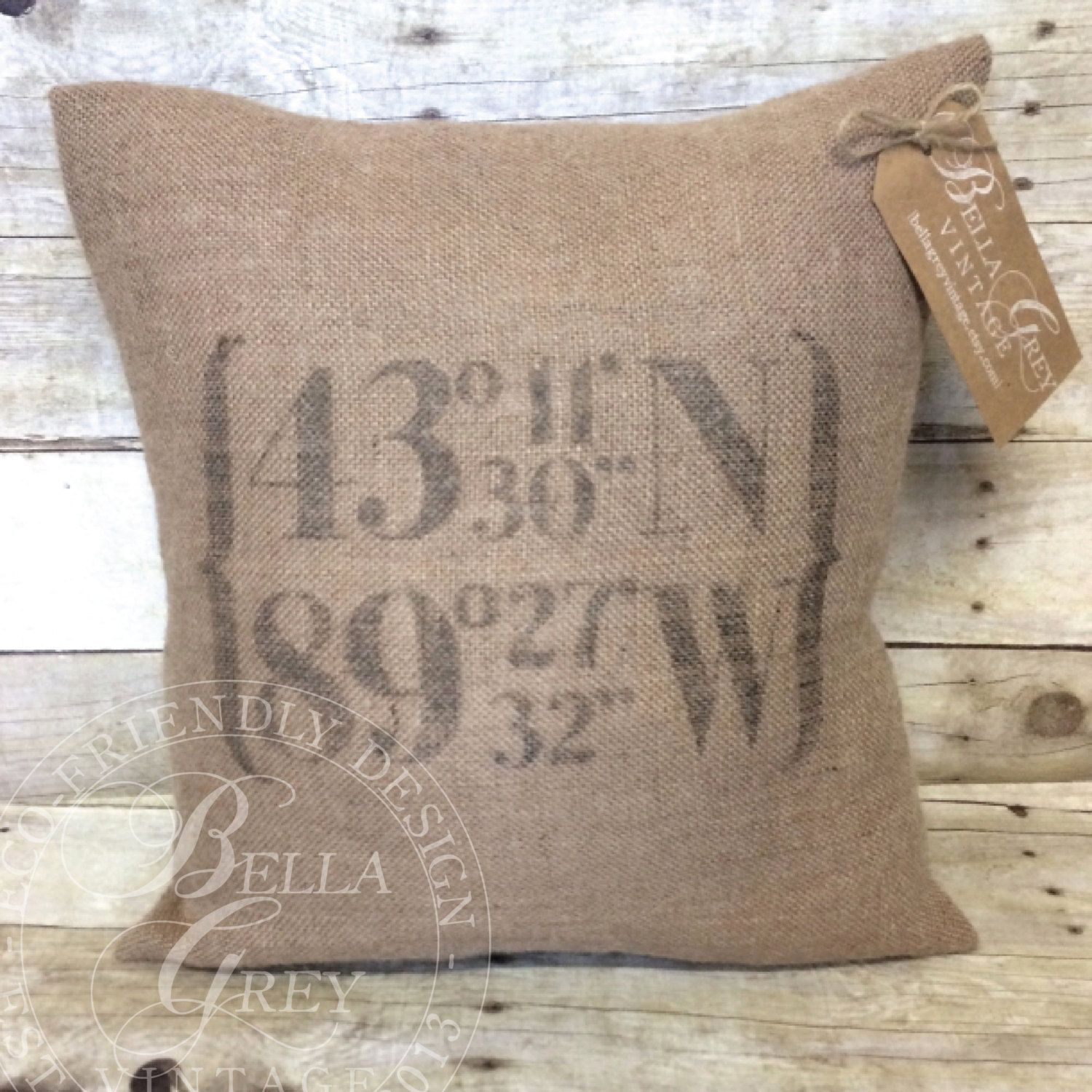 pillow the yall god pistol bless y all burlap turquoise products