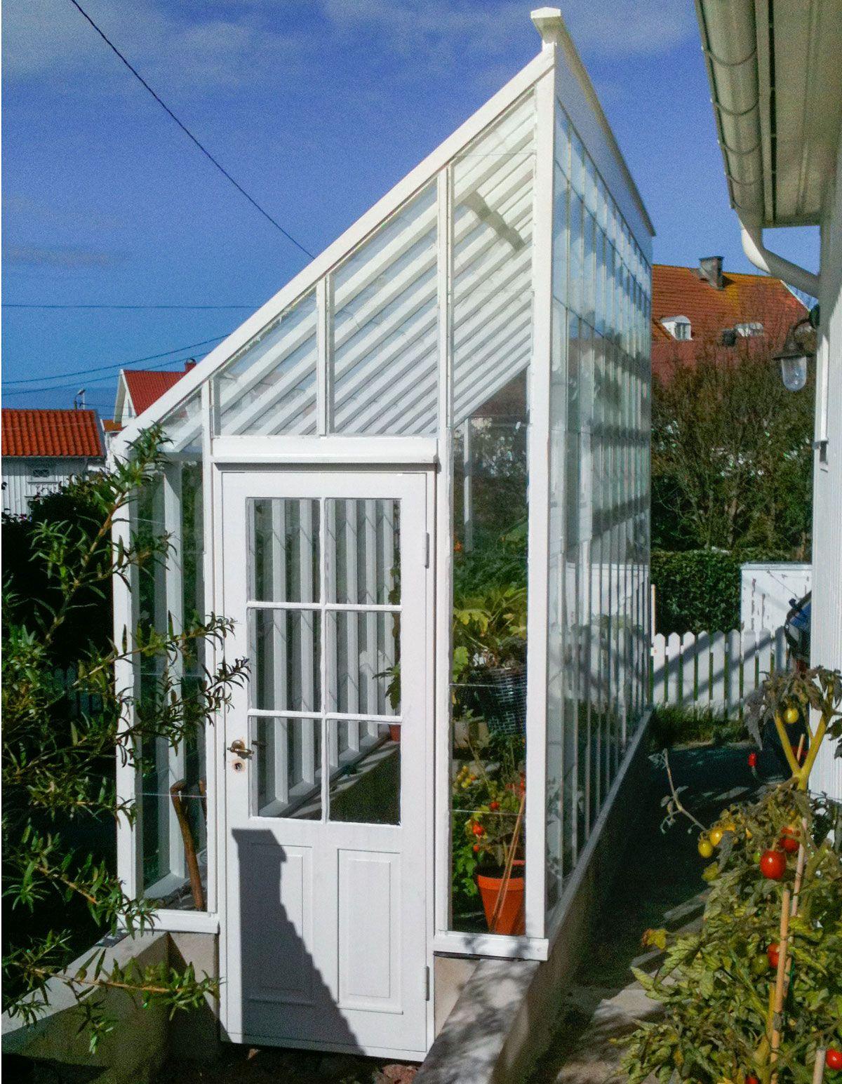 Sweden Green House ritar, tillverkar och säljer växthus i trä och ... : växthus glas : Inredning