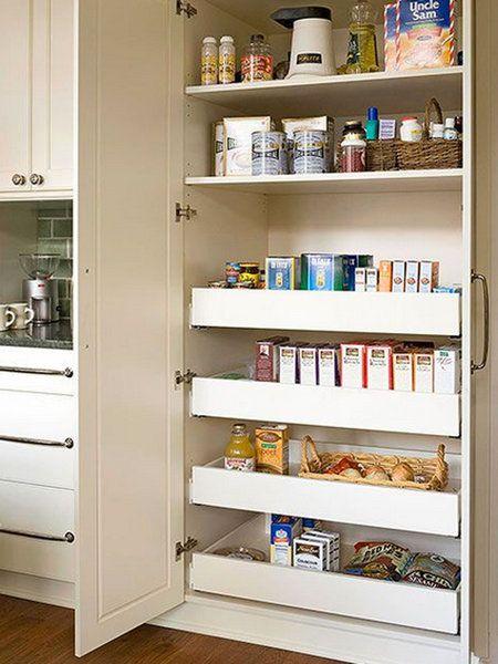 26 despensas que presumen de orden muebles pinterest despensa armario y la despensa - Muebles despensa cocina ...