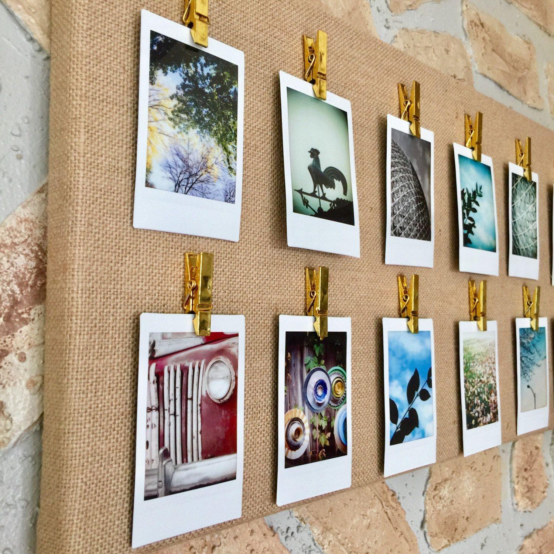 Instant Photo Display Instax Mini Display Canvas Square