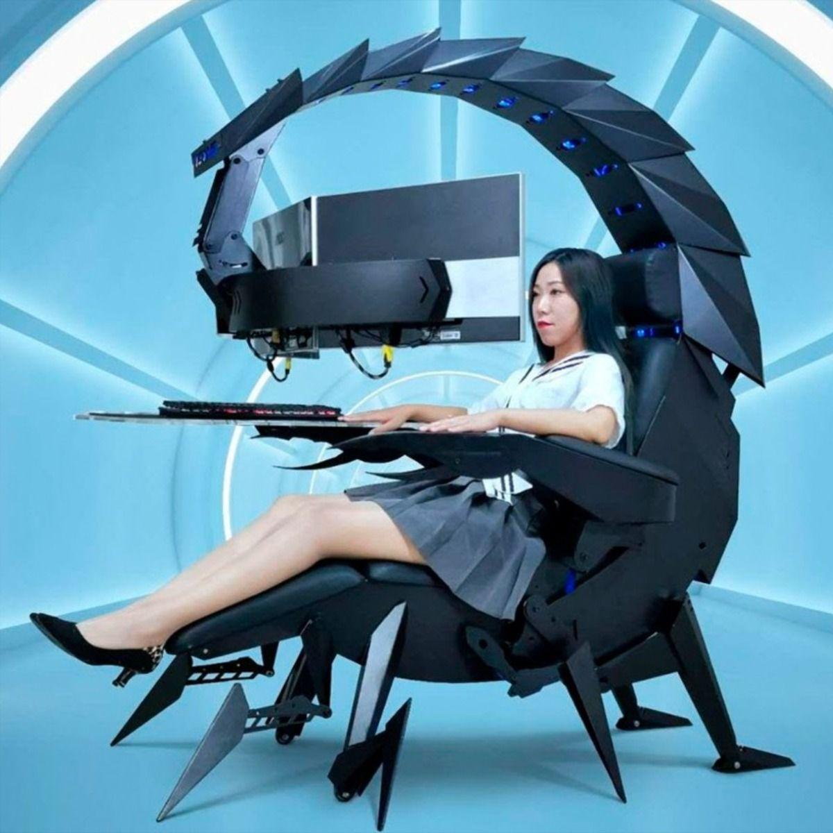 Scorpion Esports Gaming Chair and Workstation IWSK Zero