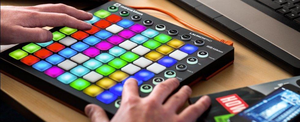 NOVATION LAUNCHPAD MKII MK2 USB DJ MIDI CONTROLLER FOR IPAD with