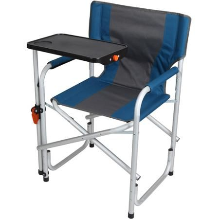 Ozark Trail Aluminum Director S Chair With Swivel Desk