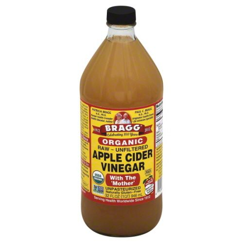 Bragg Apple Cider Vinegar, Organic, Raw, Unfiltered, with