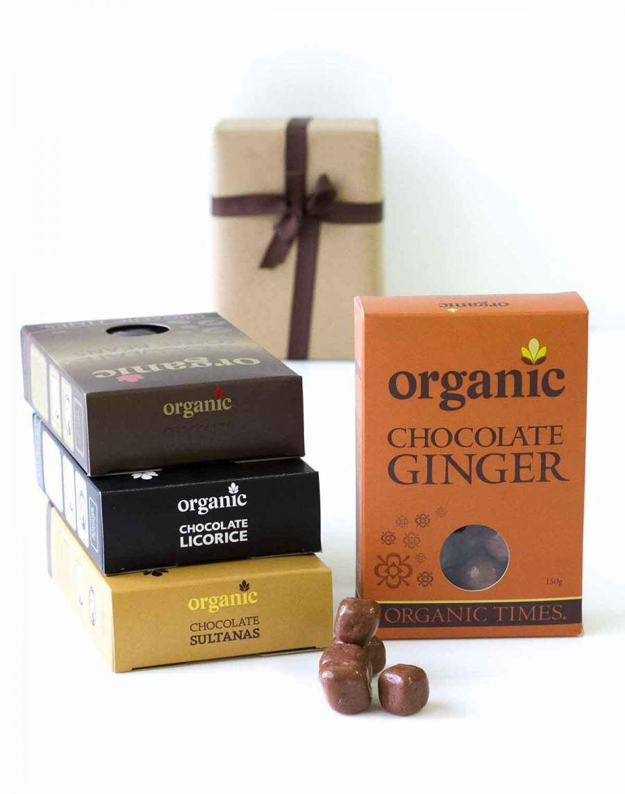 Chocolate Connoisseur Set Organic Coating