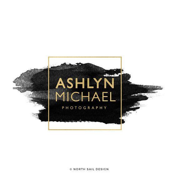 Ashlyn Michael Premade Logo Boutique Logo by NorthSailDesign A, B