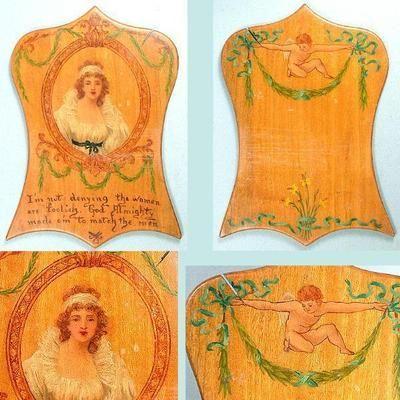 antique painted wood english circa 1800
