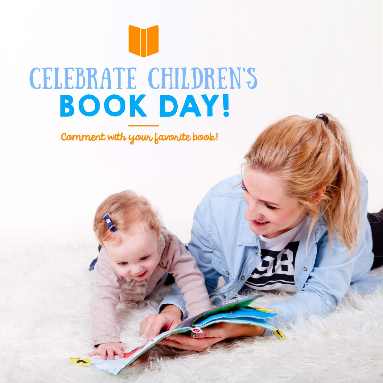 IT'S INTERNATIONAL CHILDREN'S Book Day! Everyone had a