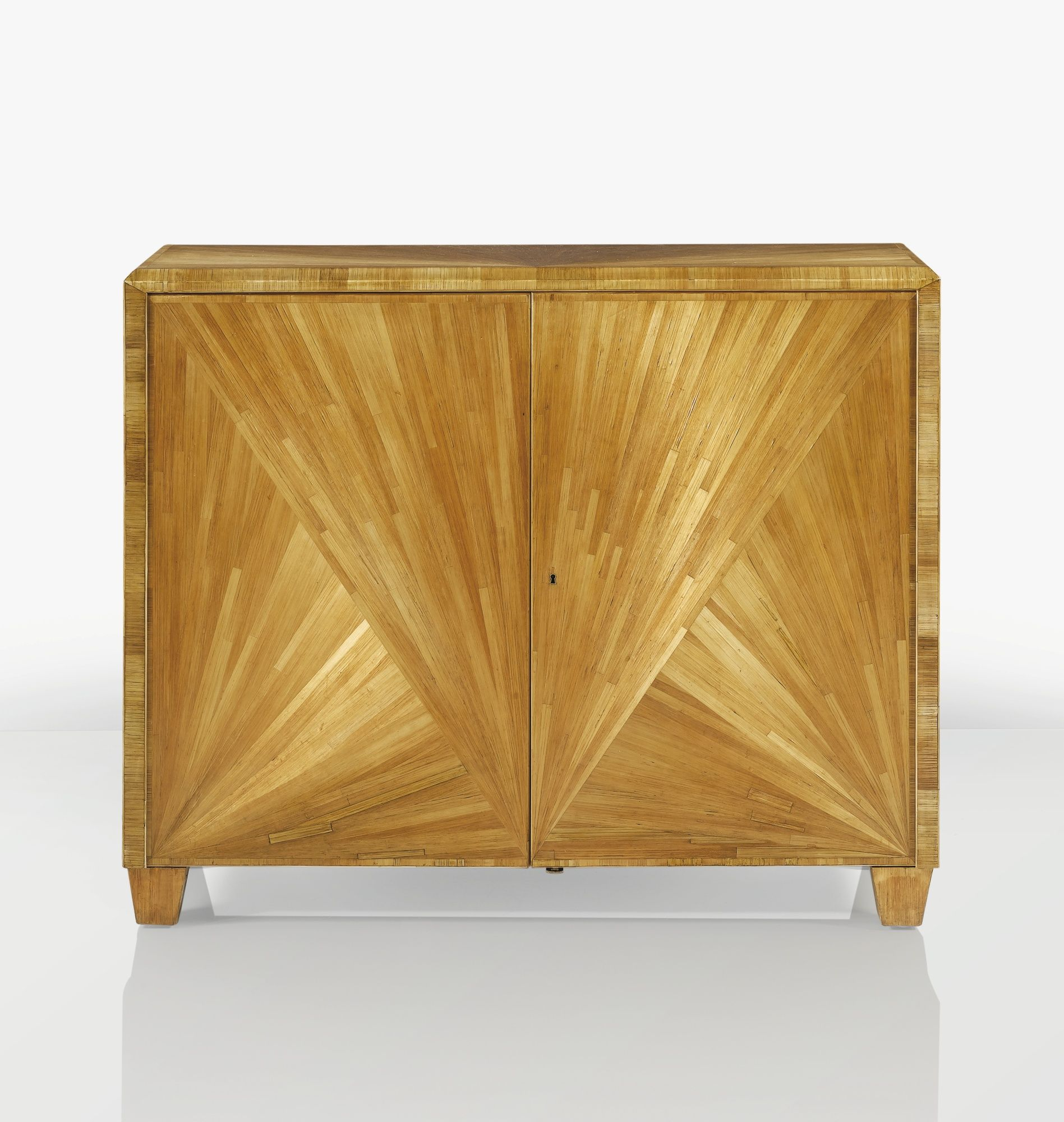 Fantastic Jean Michel Frank Cabinet Vers 1935 A Straw Marquetry And Machost Co Dining Chair Design Ideas Machostcouk