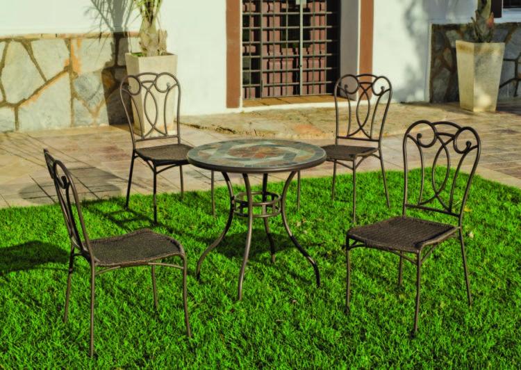 Set Mosaico Lux Lima Adria 70 4 En 2020 Mosaicos Mobiliario Exterior Jardineria