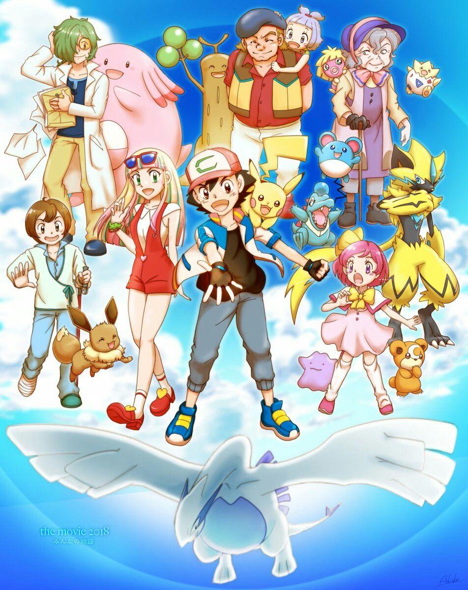 Waiting for the new pokemon film Pokemon movies, Pokemon