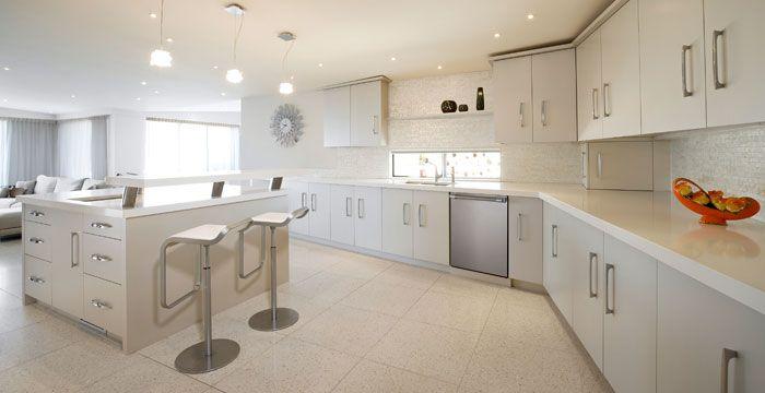 Best Pure White 1141 Caesarstone Counters White Glass 400 x 300