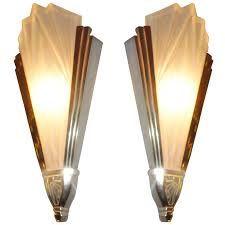Pair Of 1930s Art Deco Wall Lights Art Deco Wall Lights Art Deco Bathroom Art Deco Lighting