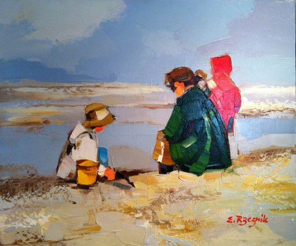 oil on canvas, 18.5 x 21.5