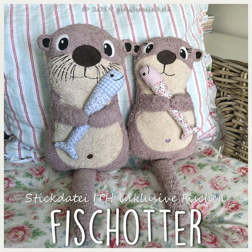 Photo of Embroidery file KuschelOTTER ITH