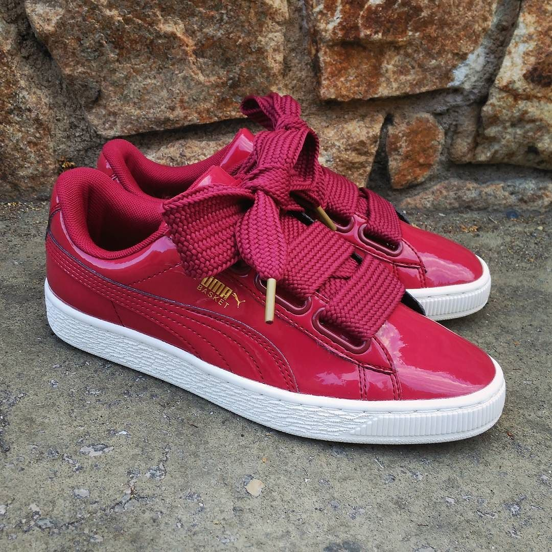 outlet store 2a0dc f267d Pin by Loretta Lackey on Shoes I love | Puma basket heart ...