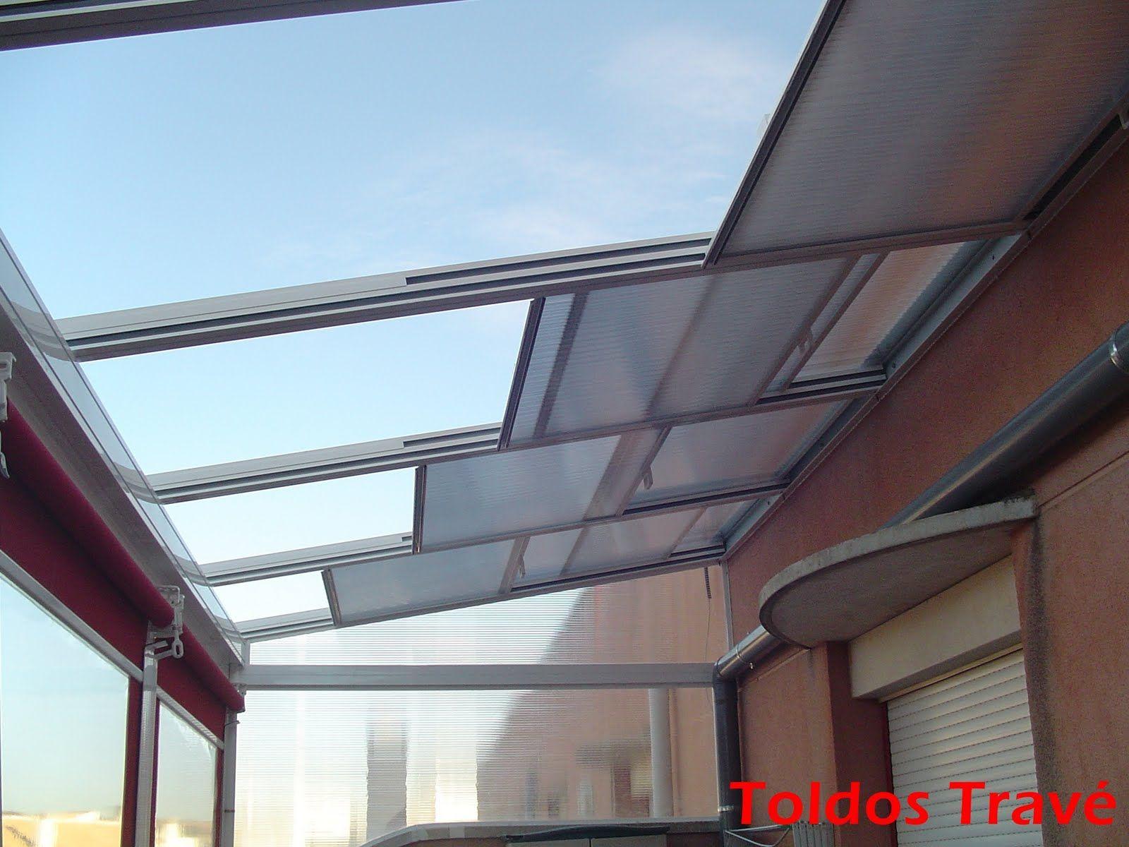 Toldos o cerramientos terrazas de aticos buscar con for Cerramiento aluminio terraza