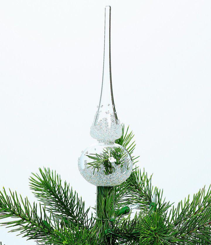 Swarovski Crystal  Glass Christmas Tree Topper Christmas ideas