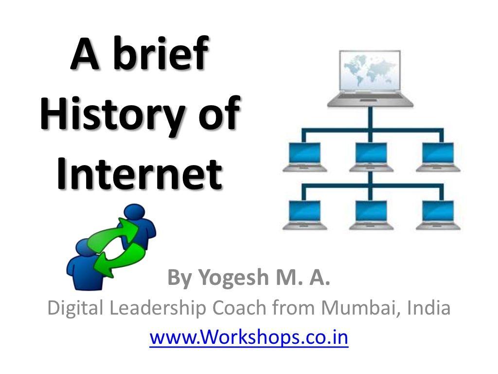 A brief History of Internet to Digital Social Media. for ...