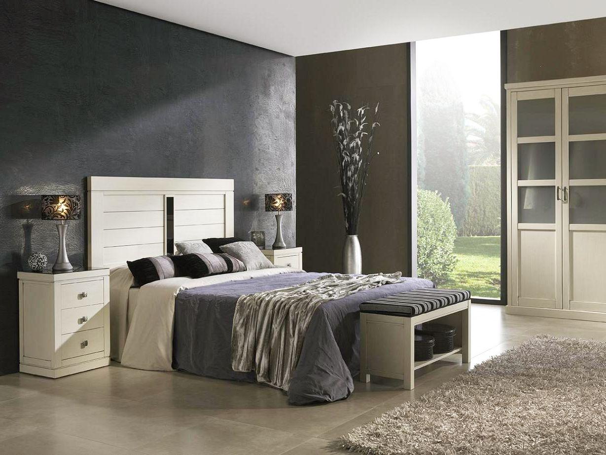 Muebles dormitorio matrimonio en madera - haya | Pinterest | Muebles ...