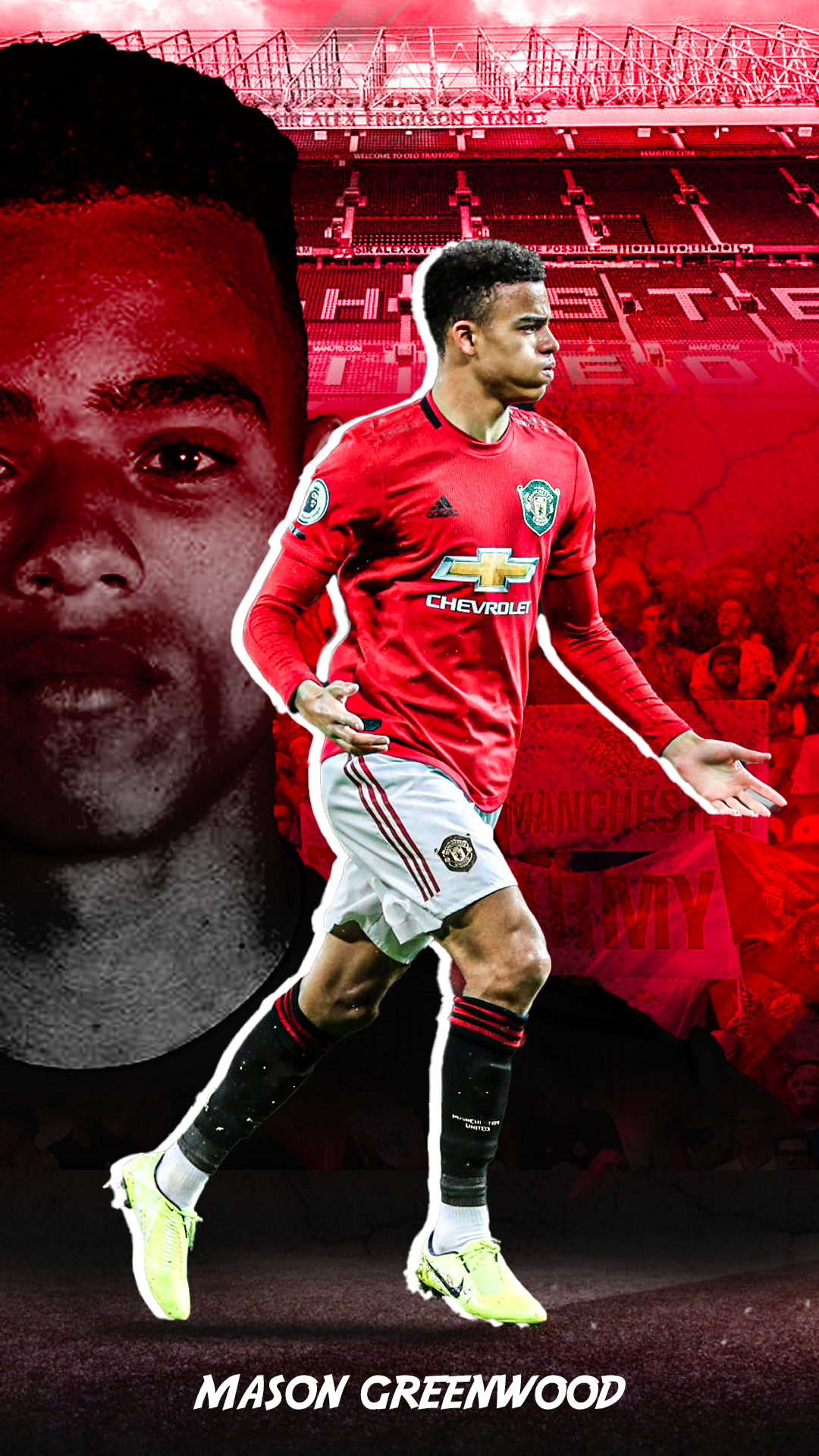 Mason Greenwood In 2020 Manchester United Manchester United Logo Manchester United Wallpaper