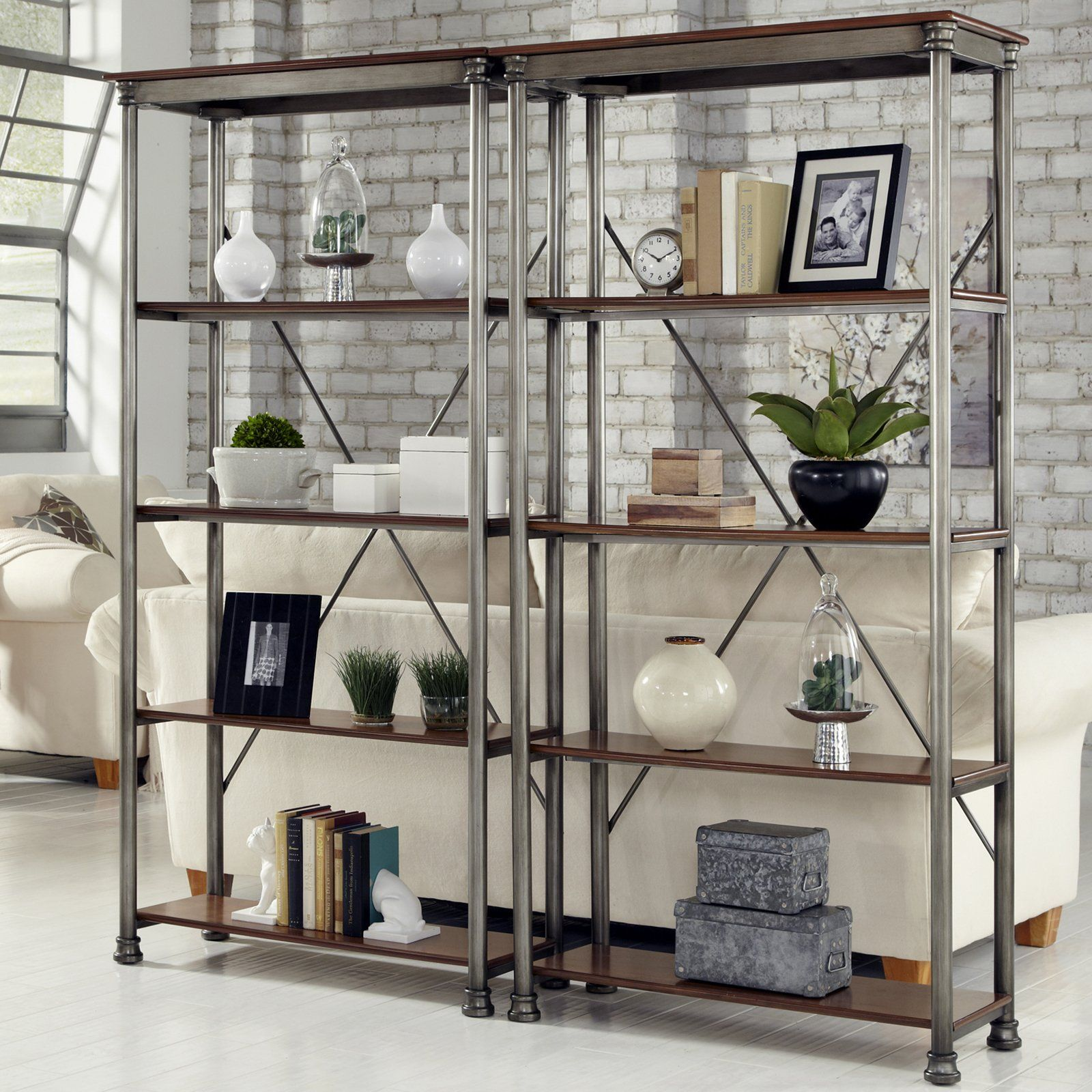 Kitchen shelving units  Have to have it Home Styles The Orleans MultiFunction  Shelf Unit