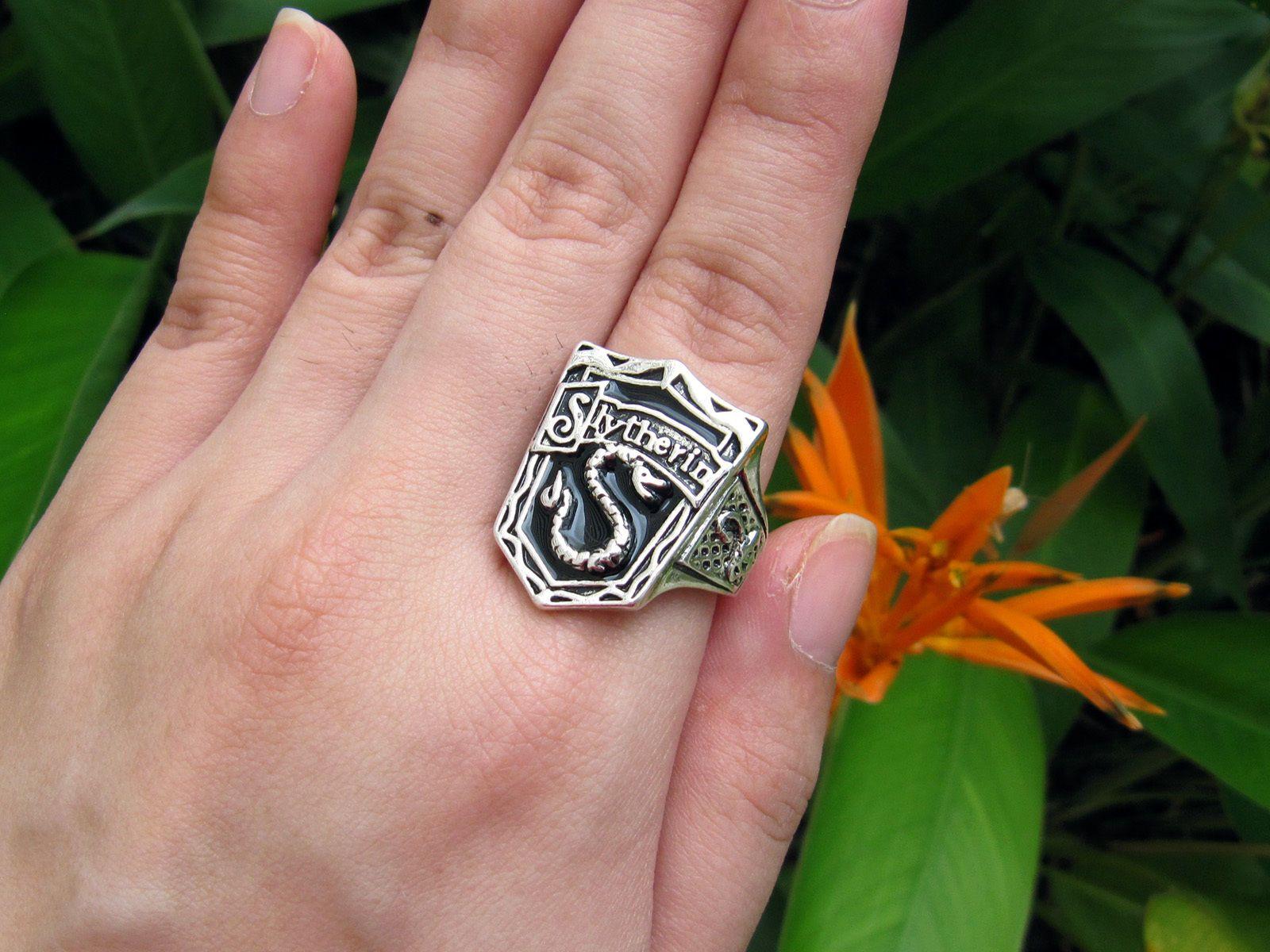 Harry Potter Rings | Reptile | Pinterest | Harry potter ring, Harry ...