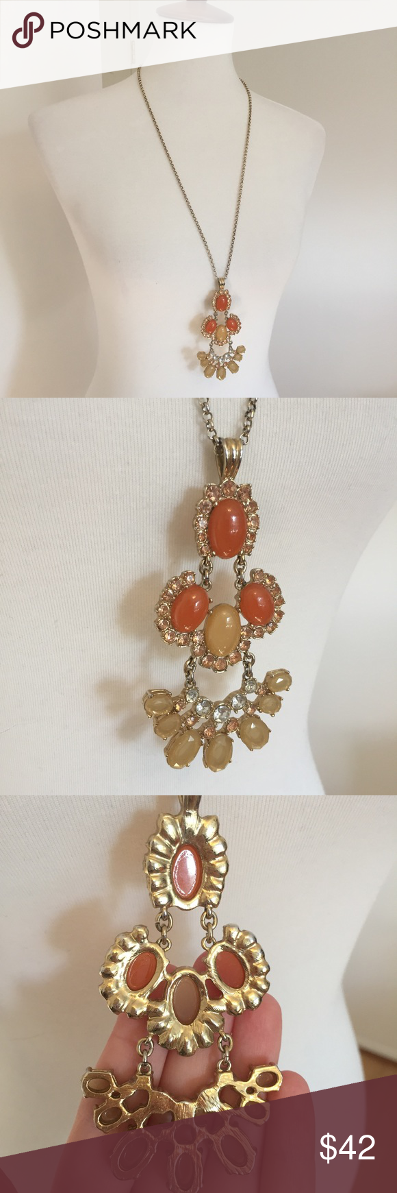 Jewelry sale j crew u pendant necklace my posh picks pinterest