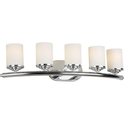 Forte Lighting Five Light Vanity Light Wayfair Lights - Five light bathroom vanity light