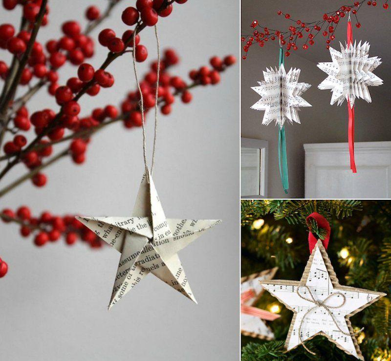Décoration De Noël À Faire Soi-Même- Idées Faciles,Pas Chères Et