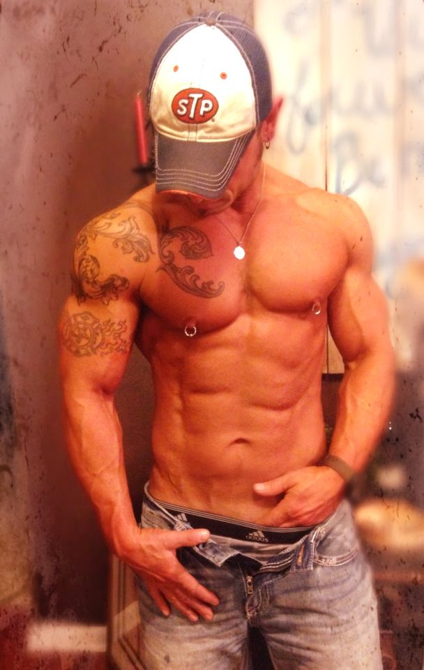 Sexy cowboys with tattoos