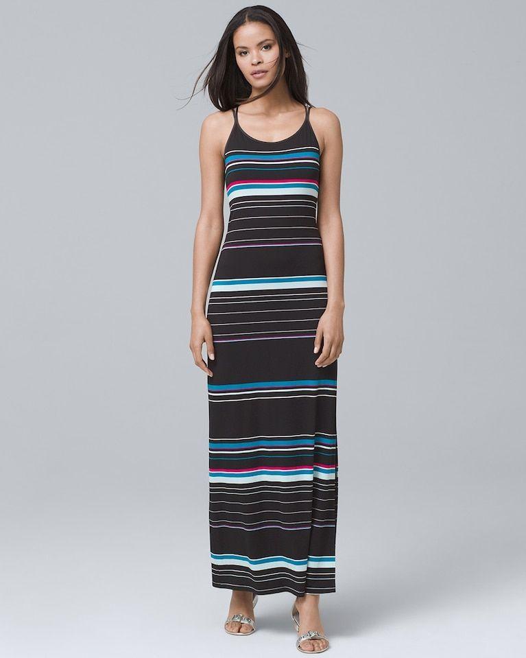 8481e90f91 Women s Striped Maxi Dress by White House Black Market