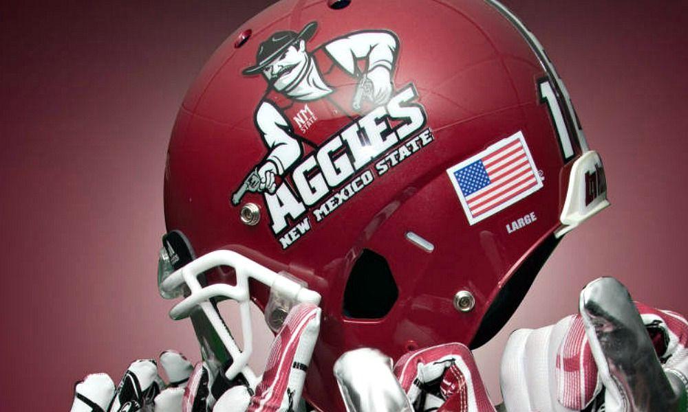 New Mexico State Aggies Football Helmet Football Images Football Helmets Football