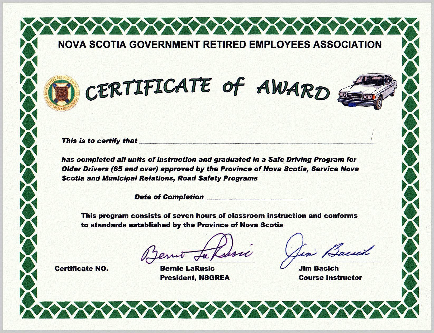 Honorary Membership Certificate Template Word In Safe Driving Certificate Template 10 Certificate Templates Business Plan Template Certificate Of Completion