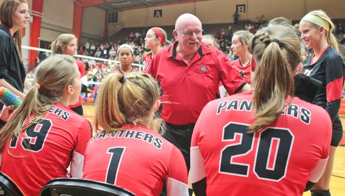 State Volleyball Top Ranked Panthers Have Room To Improve Coaching Volleyball Volleyball Mccomb