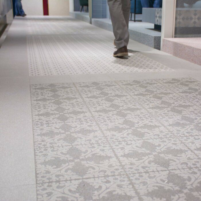 Parma Molise 12 X 12 Porcelain Patterned Wall Floor Tile Porcelain Flooring Flooring Basement Flooring Options
