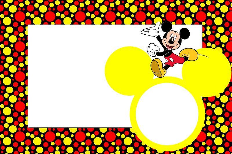 Fazendo a Minha Festa!: Mickey Tradicional - Kit Completo com ...