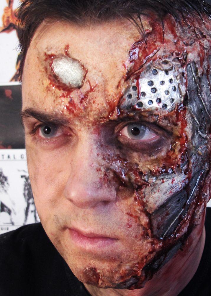 Special Effects Makeup: Terminator MakeUp By ~FraGatsu On DeviantART