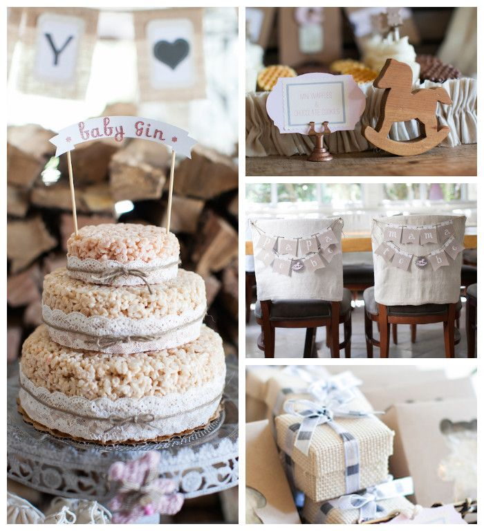 Rustic Rocking Horse Baby Shower Karas Party Ideas Horse Baby