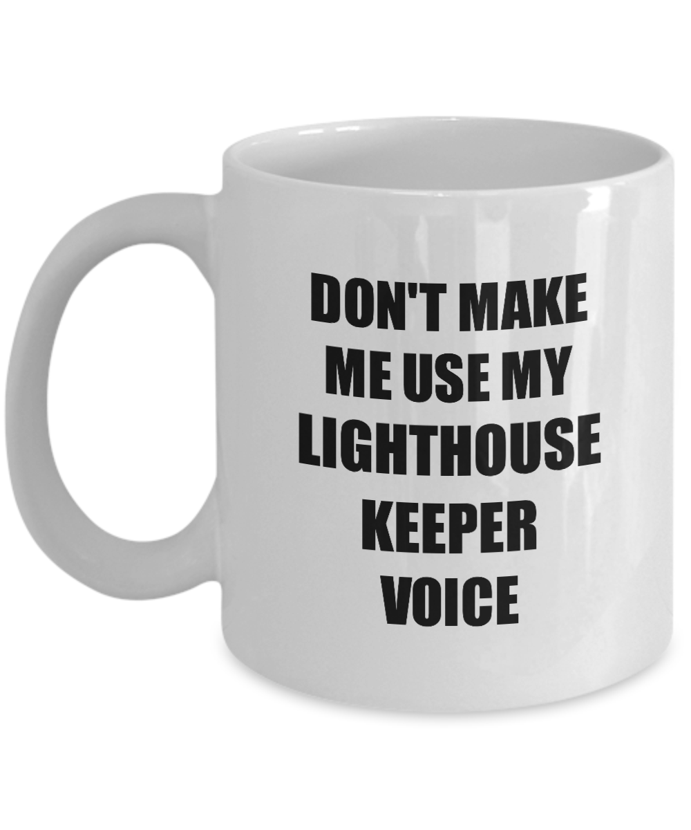 Lighthouse Keeper Mug Coworker Gift Idea Funny Gag For Job