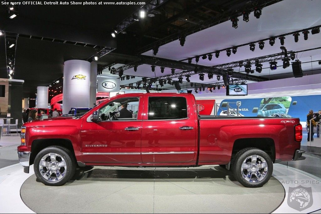 DETROIT AUTO SHOW: GM Locks The Doors On New Full Sized Trucks, But Not Before We Get The Scoop On The Inside! - AutoSpies Auto News. Click on the photo to view the gallery.