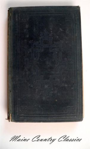 1853 Book The Sickness Health of The People of Bleaburn Harriet Martineau | eBay
