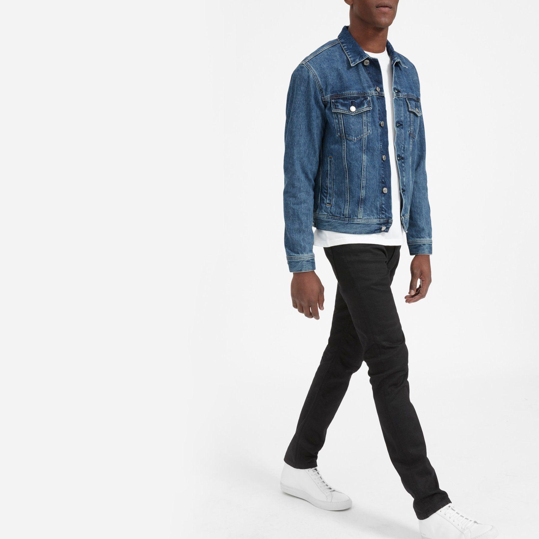 Men S Denim Jacket Everlane Jackets Men Fashion Mens Jackets Denim Jacket Men [ 1800 x 1800 Pixel ]
