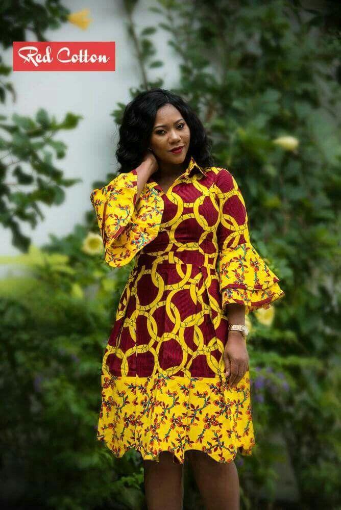 #africanprint #africanfashion | ankara modern in 2018 | Pinterest | Robe africaine, Mode ...