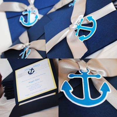 Nautical baby shower boutique babies and babyshower nautical baby shower invite from malu boutiques httpprettymyparty filmwisefo Image collections