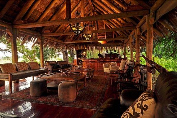 African restaurant design interior at jao